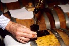 Vinagre balsâmico italiano Fotos de Stock
