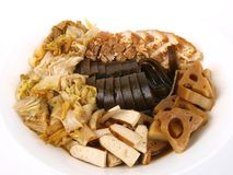 Vinagre chinês prato stued Fotos de Stock Royalty Free