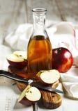 Vinagre de Apple Foto de Stock