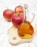 Vinagre de sidra de maçã foto de stock