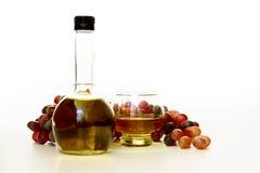 Vinagre de vino foto de archivo libre de regalías