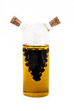 Vinagre e Olive Oil Fotos de Stock Royalty Free
