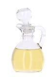 Vinagre na garrafa de vidro Fotografia de Stock Royalty Free