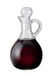 Vinaigre balsamique (avec le chemin de découpage) Photographie stock