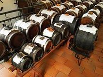 Vinaigre basalmic traditionnel en Italie Photos libres de droits
