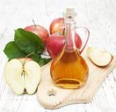 Vinaigre de cidre d'Apple Images libres de droits