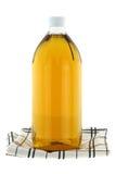 Vinaigre de cidre filtré d'Apple Photographie stock