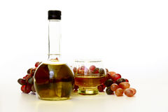 Vinaigre de vin photo libre de droits