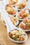 Vinaigrette мидий для хорошей закуски Стоковое Изображение RF