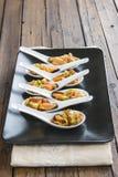Vinaigrette мидий для хорошей закуски Стоковые Изображения RF