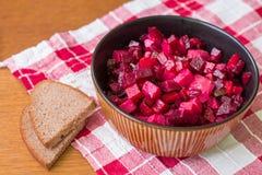 Vinaigrette с хлебом Стоковая Фотография RF