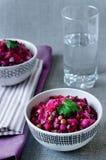 Vinaigrette, insalata russa Fotografie Stock