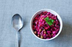 Vinaigrette, insalata russa Fotografia Stock