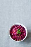 Vinaigrette, insalata russa Immagini Stock Libere da Diritti