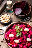 Vinaigrette russe de salade photos stock