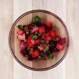 Vinaigrette salad Stock Photo