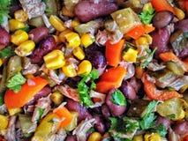 Eco vinaigrette salad. Vinaigrette salad vegetable royalty free stock image