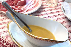 Vinaigrette sauce Royalty Free Stock Photos