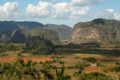 Vinales谷,古巴 免版税库存图片