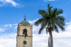 Vinales Church, UNESCO, Vinales, Pinar del Rio Province, Cuba. royalty free stock images