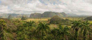 Vinales dal, Kuba Arkivfoton