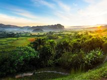 Vinales Valles στην Κούβα Στοκ Εικόνες