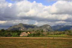 The Vinales Valley Royalty Free Stock Photos