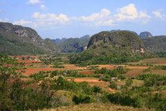 The Vinales Valley Royalty Free Stock Images