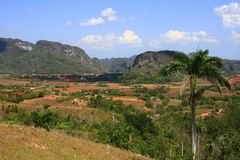 The Vinales Valley Royalty Free Stock Photo
