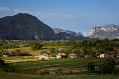 The Vinales valley in Cuba Stock Images