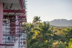 Vinales Valley, Cuba landscape stock photography