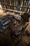 Vinales Valley, Cuba - September 24, 2015: Young Cuban farmer ma Royalty Free Stock Image