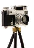 vinatage τρίποδων φωτογραφικών μη στοκ φωτογραφίες