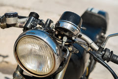 Vinatage motorcycle Royalty Free Stock Images
