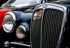 VINTAGE CAR LOGO LANCIA Stock Image