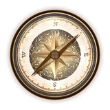 Vinatge antique compass Stock Image