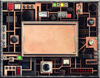 Vinatge control panel Stock Images