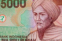 Vinatge Indonesian Currency Royalty Free Stock Photos