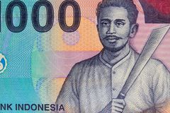 Vinatge Indonesian Currency Royalty Free Stock Images