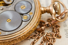 Vinatge pocket watch Royalty Free Stock Photography