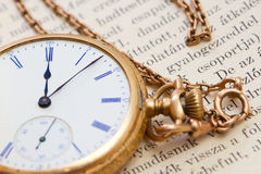 Vinatge pocket watch Royalty Free Stock Photo
