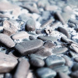 Vinatge rounded water stones Stock Photography