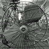 Vinatge trehjulinghjul Royaltyfria Bilder