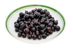 Vinbäret är i maträtten fotografering för bildbyråer