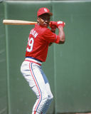 Vince Coleman, St. Louis Cardinals Stock Photo