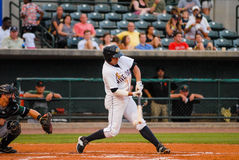 Vince Conde, Charleston RiverDogs infielder. Royalty Free Stock Photography