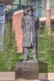 Vince Lombardi statua Obrazy Royalty Free