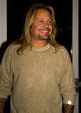 Vince Neil of Motley Crue. Vince Neil, lead singer of Mötley Crüe, attends the annual Frank Sinatra Celebrity Invitational golf tournament in Indian Wells, CA Royalty Free Stock Image