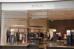 Vince store at King of Prussia Mall in Pennsylvania Royalty Free Stock Photography
