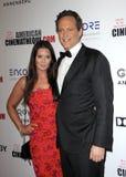 Vince Vaughn en Kyla Vaughn royalty-vrije stock foto's